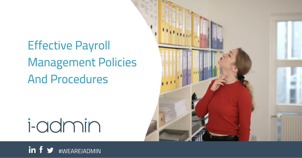 Effective Payroll Management Policies And Procedures