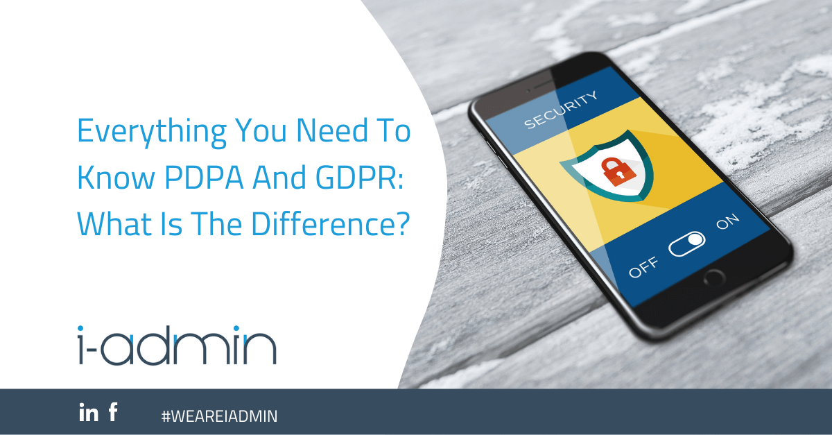 Everything You Need To Know PDPA And GDPR: What Is The Difference?