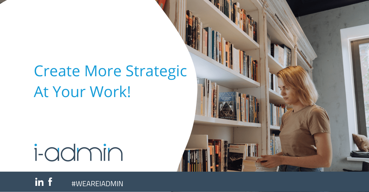 Create More Strategic At Your Work