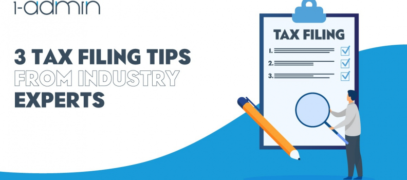 3 Tax Filing Tips From Industry Experts